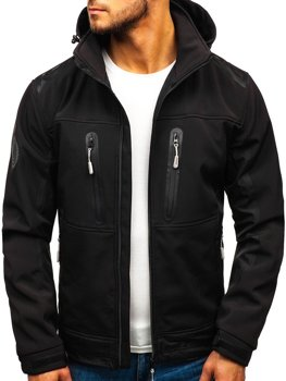 Men's Softshell Jacket Black Bolf A6603