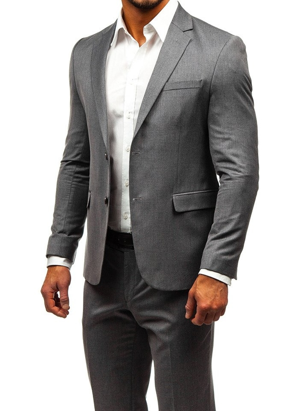 Men's Suit Grey Bolf 172000-1