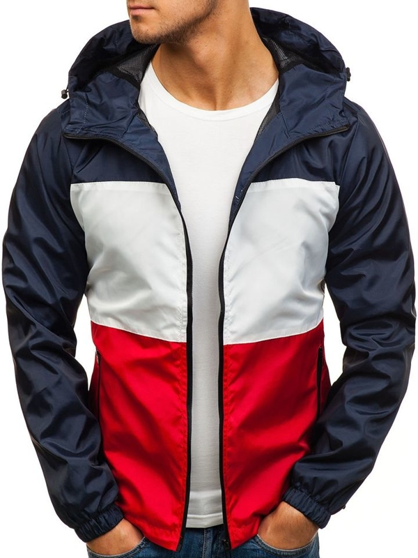 NAVY BLUE-RED