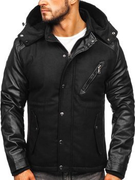 Men's Transitional Jacket Black Bolf 3356