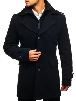 Men's Winter Coat Black Bolf 1808