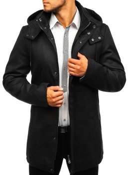 Men's Winter Coat Black Bolf 5440