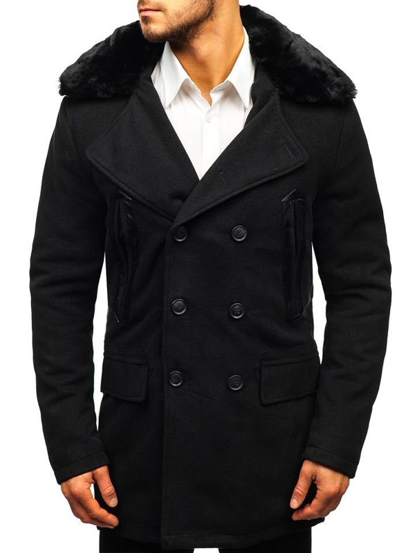 Men's Winter Coat Black Bolf 88872