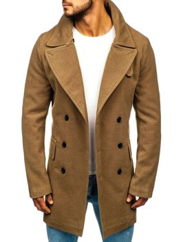 Men's Winter Coat Camel Bolf 1048A