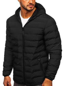Men's Winter Down Jacket Black Bolf SM67