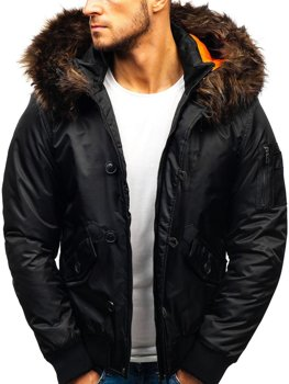 Men's Winter Jacket Black Bolf 99123