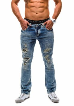 Men's jeans DENIM REPUBLIC 4284 (7736) navy blue