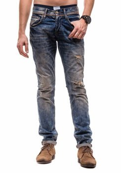 Navy Blue Men's Jeans Bolf 3933-1 (6994)