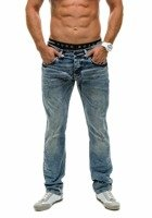 Navy Blue Men's Jeans Bolf 4157(8899)-3