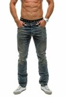 Navy Blue Men's Jeans Bolf 4457-1(8960)