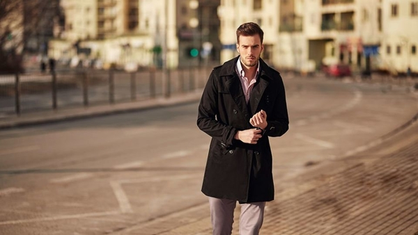 Outfit No. 418 - Coat, Winchester Shirt, Chinos