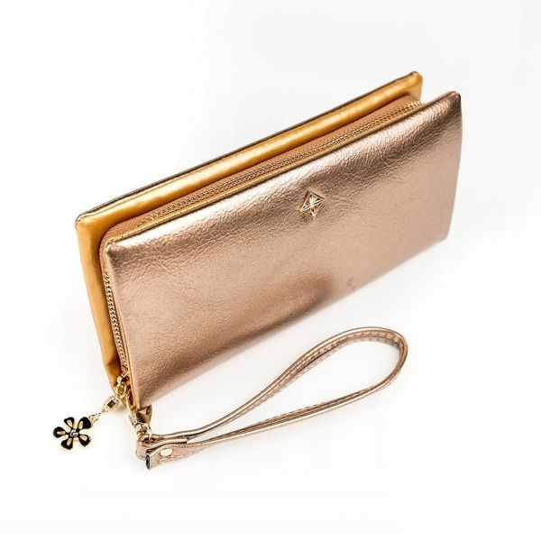 Women's Eco Leather Wallet Golden 1172