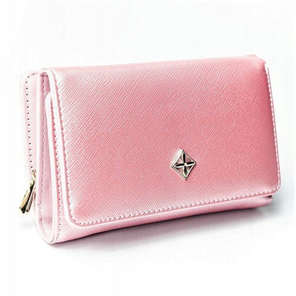 Women's Eco Leather Wallet Pink 2310