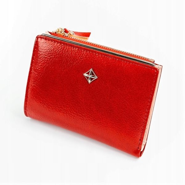Women's Eco Leather Wallet Red 1031