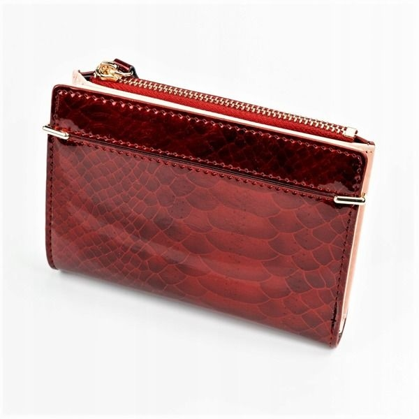 Women's Eco Leather Wallet Red 1054