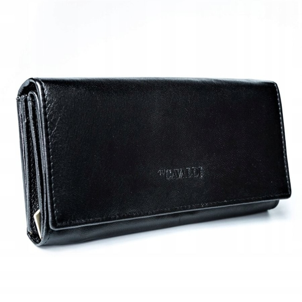 Women's Leather Wallet Black 2773