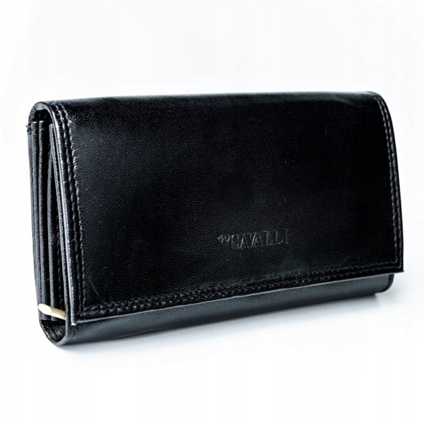 Women's Leather Wallet Black 2776
