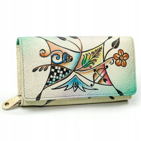 Women's Leather Wallet Multicolor 3095