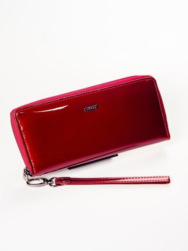Women's Leather Wallet Red 1214
