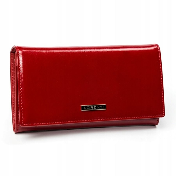 Women's Leather Wallet Red 2899