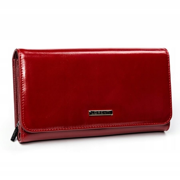 Women's Leather Wallet Red 2900