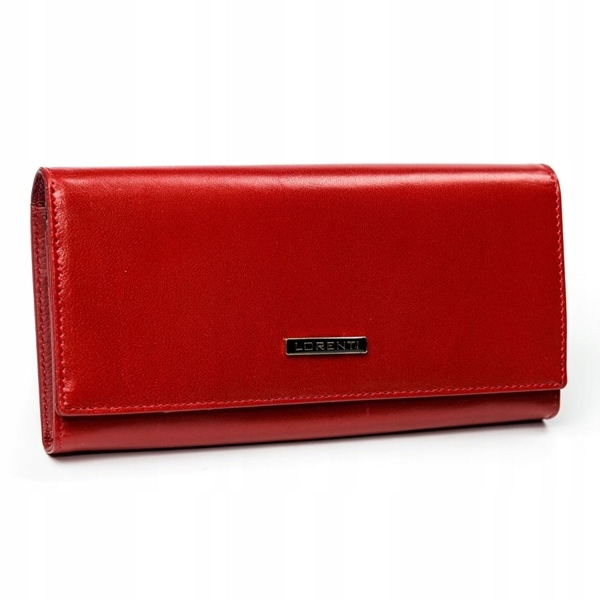 Women's Leather Wallet Red 2902