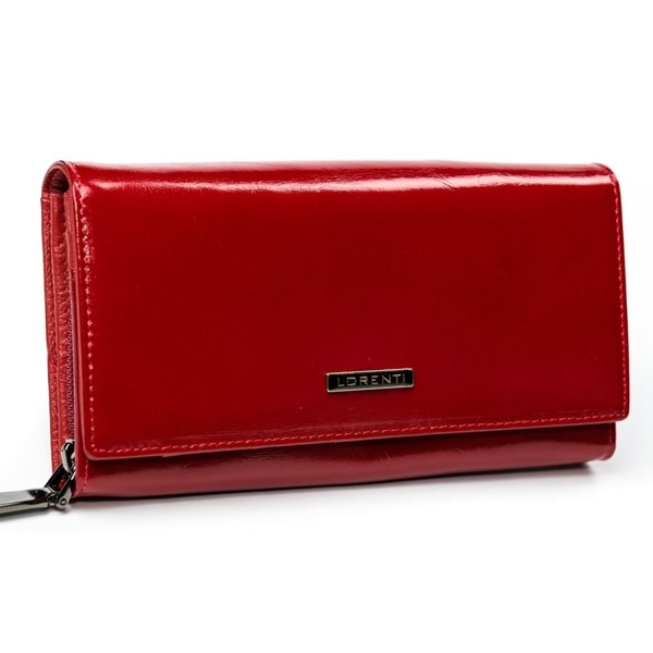 Women's Leather Wallet Red 2903