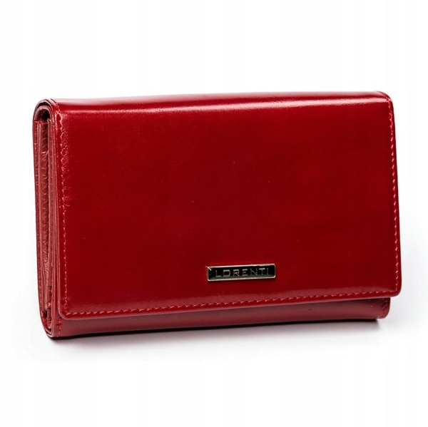 Women's Leather Wallet Red 2905