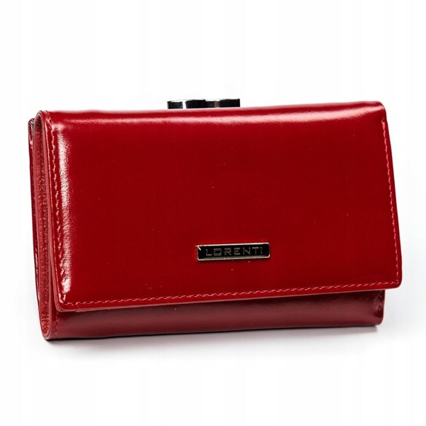 Women's Leather Wallet Red 2907