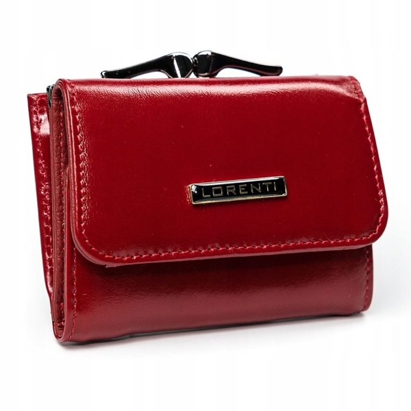 Women's Leather Wallet Red 2908