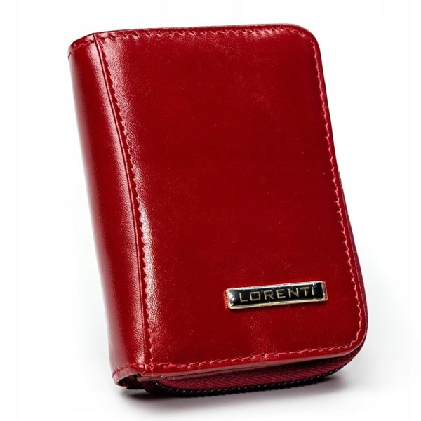 Women's Leather Wallet Red 2909