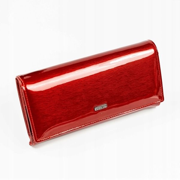 Women's Leather Wallet Red 887