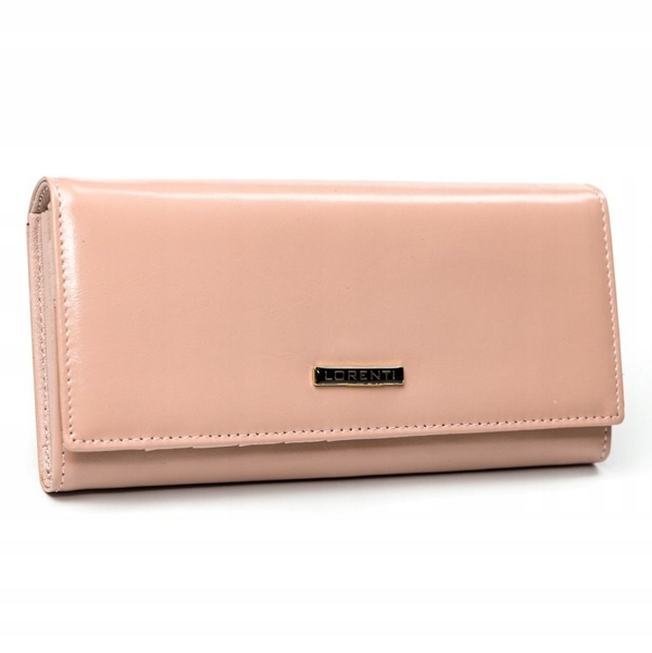 Women's Leather Wallet Salmon 2858