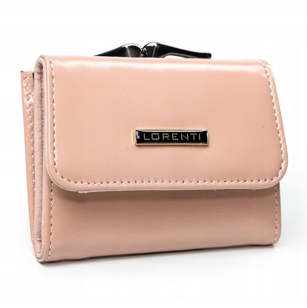 Women's Leather Wallet Salmon 2862