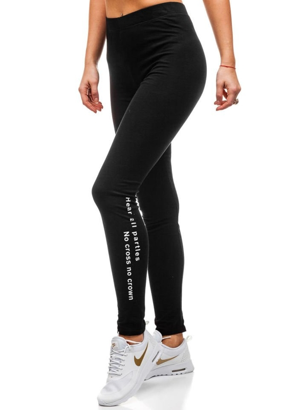 Women's Leggings Black Bolf K7835
