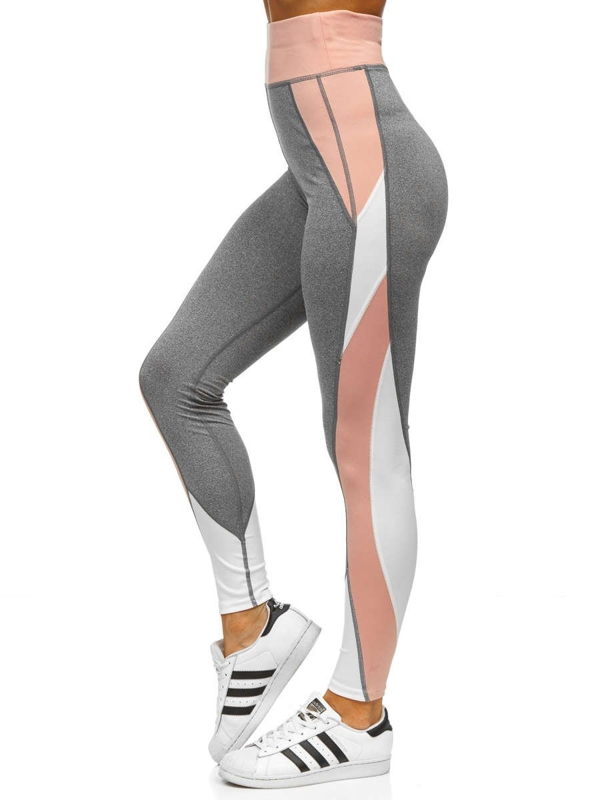 Women's Leggings Grey Bolf 54038