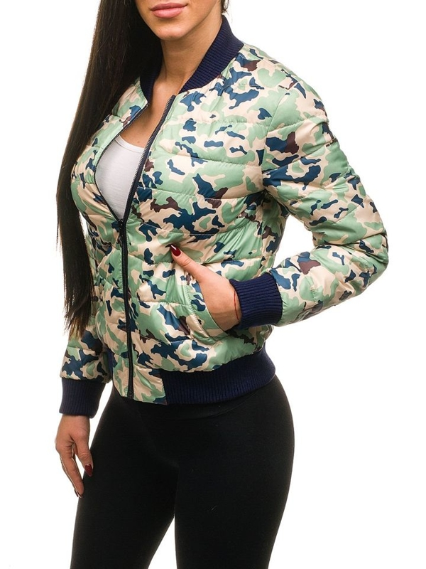 Women's Lightweight Jacket Green Bolf 2030