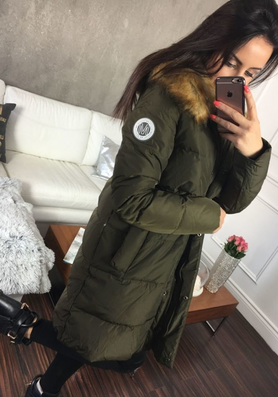 Women's Winter Jacket Khaki Bolf 8063