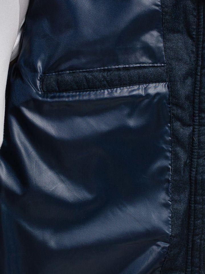 b61f01c72 Men's Lightweight Elegant Jacket Navy Blue Bolf 019