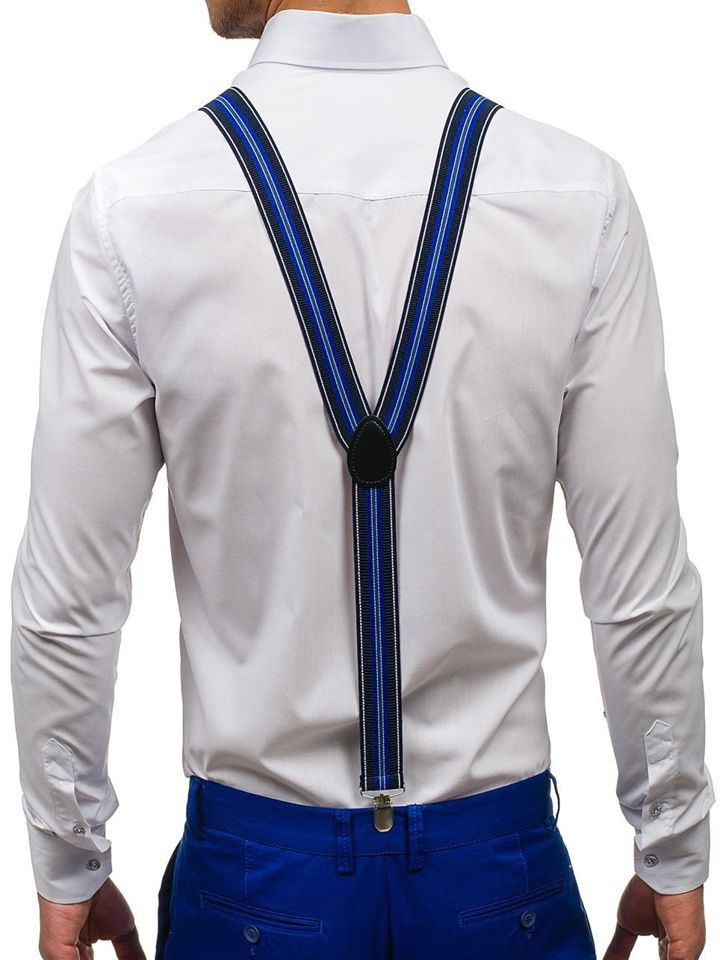 Men's Suspenders Royal Blue Bolf SZ05 ROYAL BLUE