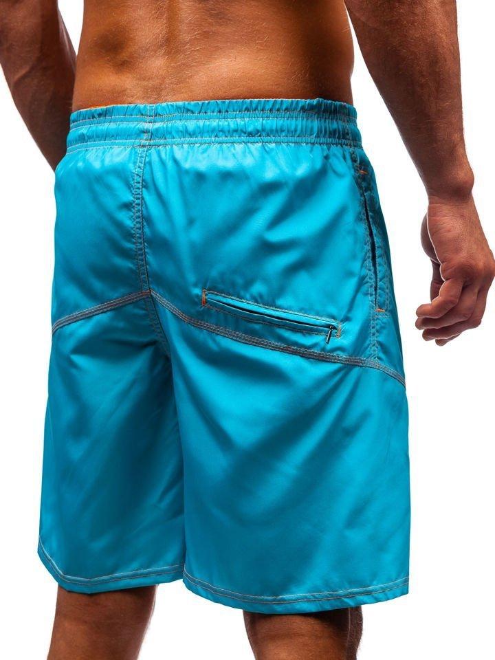14d6e392f18 Men's Swimming Trunks Turquoise Bolf 349 TURQUOISE
