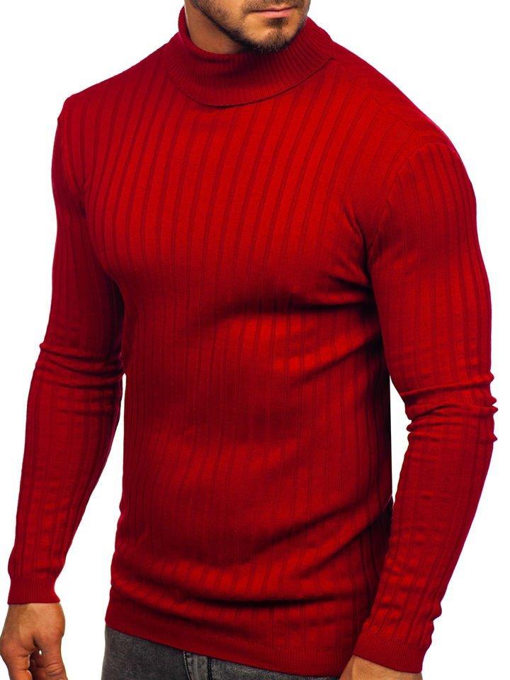 red turtleneck mens