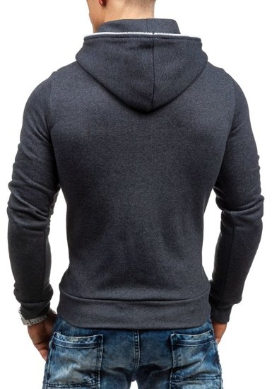 Anthracite Men's Hoodie Bolf TOMMY