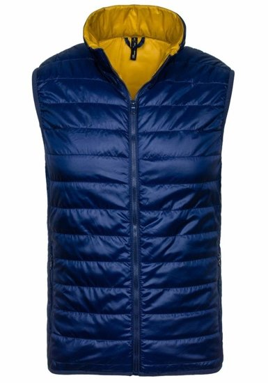 Blue Men's Vest Bolf GL01
