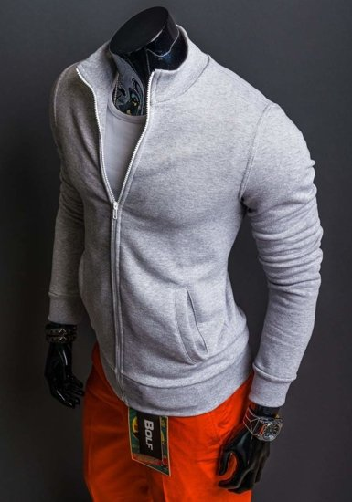 Grey Men's Sweatshirt Bolf 12
