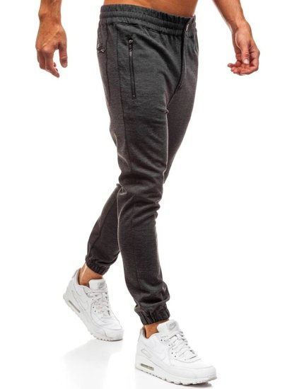 Men's Baggy Sweatpants Anthracite Bolf 1030