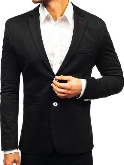 Men's Casual Blazer Navy Blue Bolf 405