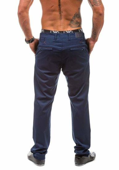 Men's Chinos Navy Blue Bolf 1821