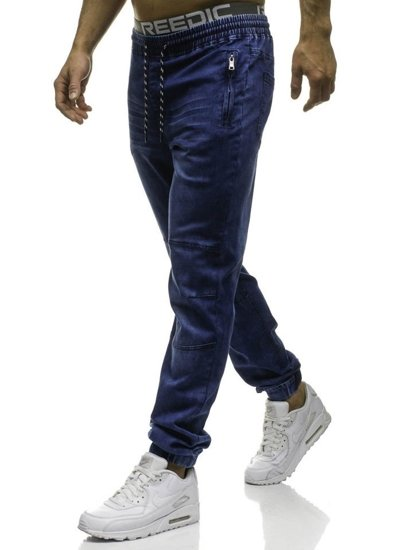 Men's Denim Joggers Navy Blue Bolf HY185