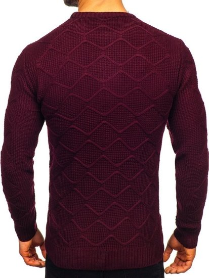 Men's Jumper Claret Bolf 1901